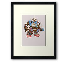 Thomas The Assault Engine Framed Print