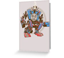 Thomas The Assault Engine Greeting Card