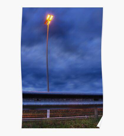 Speedway lamp Poster
