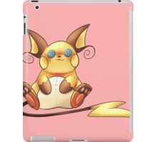 Raichu doll iPad Case/Skin