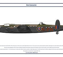 Lancaster GB 12 Squadron 1 by Claveworks