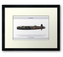 Lancaster GB 12 Squadron 1 Framed Print