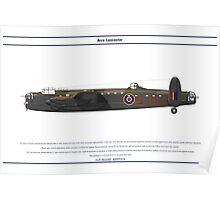 Lancaster GB 12 Squadron 1 Poster