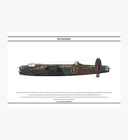 Lancaster GB 12 Squadron 1 Photographic Print