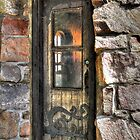 Wooden Castle Door by SueAnne