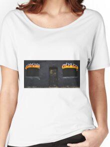 Facade of Fire  Women's Relaxed Fit T-Shirt