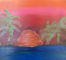 Carribean Sunset.. NOT MY BEST WORK but was done fast..  by Mylojs