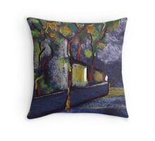 A street in spain Throw Pillow