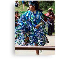 Native North American Dancer Canvas Print