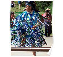 Native North American Dancer Poster