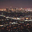 Los Angeles Skyline by Kaitlyn Mikayla