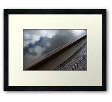 Liquid Sky Framed Print
