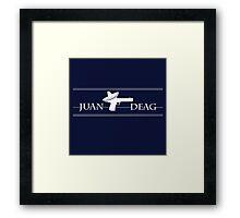 Juan Deag Framed Print