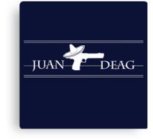 Juan Deag Canvas Print