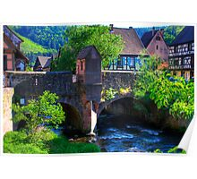 Kaysersberg - bridge Poster