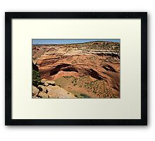 In The Shelter Of The Wind I Will Build My Home Framed Print
