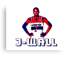 J-WALL Stencil Design Canvas Print