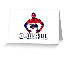 J-WALL Stencil Design Greeting Card
