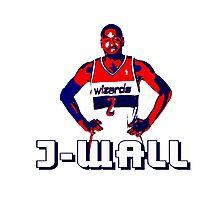 J-WALL Stencil Design Photographic Print