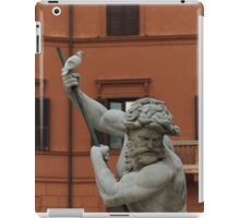 Neptune and the Dove - Fountain of Neptune, Piazza Navona, Rome, Italy iPad Case/Skin