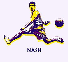 NASH Stencil Design by nbatextile