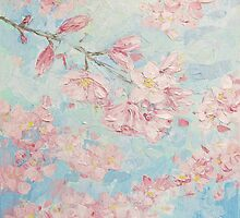 Yoshino Cherry Blossoms by Ann Marie Coolick