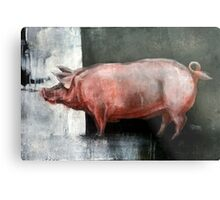 I'm Pink, Therefore I'm Ham Metal Print