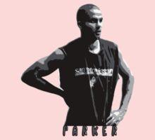 Parker Stencil Design Kids Clothes