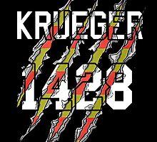 Freddy Krueger Jersey by Rachel Flanagan