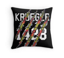 Freddy Krueger Jersey Throw Pillow