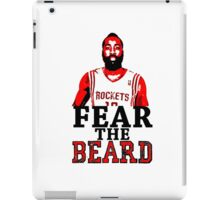 Fear the Beard Stencil Design iPad Case/Skin