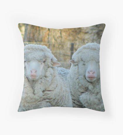 Ewe Cheeky Girls! Throw Pillow
