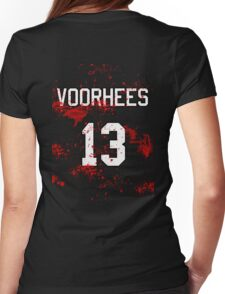 Jason Voorhees Jersey Womens Fitted T-Shirt