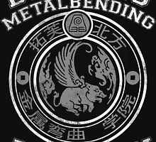 Beifong Metalbending Academy - White & Silver by KumoriDragon