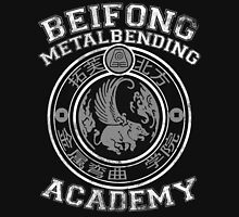 Beifong Metalbending Academy - White & Silver Unisex T-Shirt