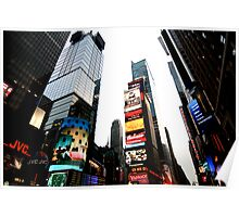 Time Square Poster