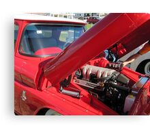 V8 Fifties Chevrolet Ute. Hot Rod show. Kingscliff Nth. N.S.W.  Canvas Print