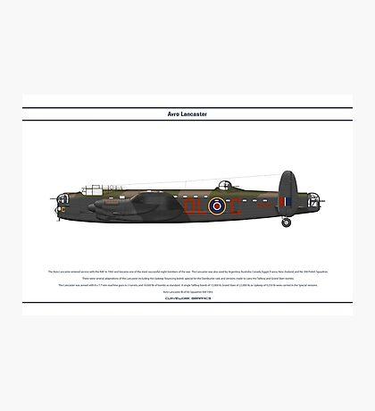 Lancaster GB 83 Squadron 1 Photographic Print