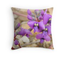 Hardenbergia violacea Throw Pillow
