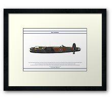 Lancaster GB 103 Squadron 1 Framed Print