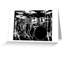Drummers do it better Greeting Card