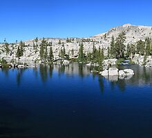 Channel Lake in Desolation Wilderness by Christophe Testi