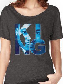 "KING "" Flint Grey "" "" Jordan "" Women's Relaxed Fit T-Shirt"