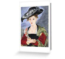 Celinda's Ruban Greeting Card