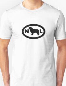 Newfoundland Dog Smybol Unisex T-Shirt