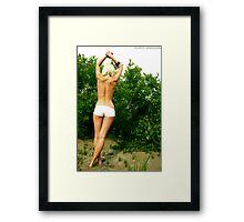 Gentle Figure Framed Print