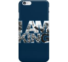 I AM KING Jordan 7 flint grey iPhone Case/Skin