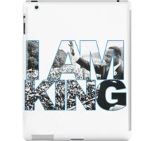 I AM KING Jordan 7 flint grey iPad Case/Skin