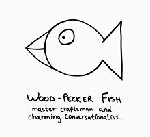 Boys: Wood-Pecker Fish Unisex T-Shirt