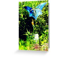 Uncommon Blue Greeting Card